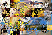 San Francisco Painter Posters - DA Bears v3 Poster by Jimi Bush