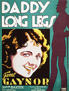 Newscanner Framed Prints - Daddy Long Legs, Janet Gaynor, 1931 Framed Print by Everett