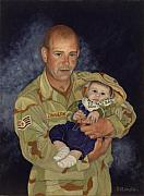 Commision Art - Daddys Home by Michelle Krahenbuhl