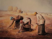 Copy Paintings - Dads Rendition of The Gleaners by Anne-Elizabeth Whiteway