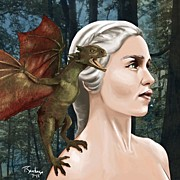 Fantasy Art - Daenerys by Tony Santiago