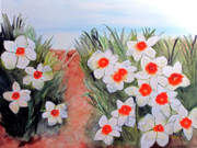 Daffodils Originals - Daffodils by Sandy McIntire