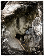 Saints Digital Art Posters - Daguerrotype Angel Poster by Sonja Quintero