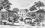 Daily Life For Enslaved Africans Print by Everett
