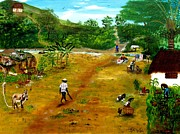 West Indies Paintings - Daily Occurrence by Nicole Jean-Louis