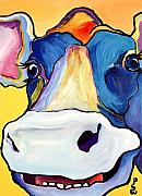 Large Paintings - Dairy Queen I   by Pat Saunders-White
