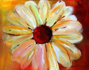 Daisy Art - Daisy a Day 2 by Julie Lueders