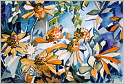 Daisy Carnival Print by Mindy Newman
