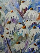 Wild Asters Paintings - Daisy Daisy by Wilfred McOstrich