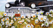 Vehicles Painting Framed Prints - Daisy DeSoto Framed Print by Suzy Pal Powell