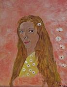 Daisy Girl Print by Aleta Parks