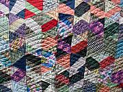 North Tapestries - Textiles - Daisy North Carolina Quilt by Bettie Thompson