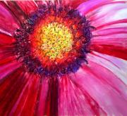 Daisy Pastels Metal Prints - Daisy Metal Print by Tiffany Westrich