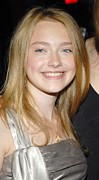 Hounddog Prints - Dakota Fanning At Arrivals For Hounddog Print by Everett