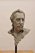 Portraits Sculptures - Dal by Jason B Matthews