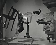 Spanish Prints - Dali  Atomicus By Philippe Halsman Print by Everett