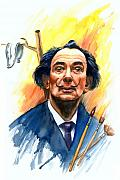 Salvador Dali  Paintings - Dali by Ken Meyer jr