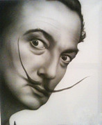 Salvador Dali  Paintings - Dali by Kevin Gallagher