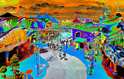 Theme Park Prints - Dali Land Print by David Lee Thompson