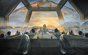 Jesus Metal Prints - Dali: Last Supper, 1955 Metal Print by Granger