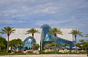 St Petersburg Florida Framed Prints - Dali Museum Framed Print by Bill Cannon