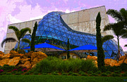 Art Museum Digital Art Metal Prints - Dali Museum Metal Print by David Lee Thompson