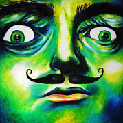 Surrealism Pastels - Dali by Savannah Stone