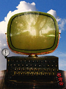 Humour Digital Art - Dali.s Surreal Steampunk Personal Computer With Upgrades by Wingsdomain Art and Photography