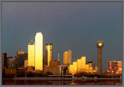 Lawrence P Kaster - Dallas Sunset from Oak...