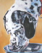 Dalmatian Dog Prints - Dalmatian Print by Lee Ann Shepard