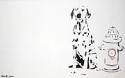 Dalmatian Print by Michael Ringwalt