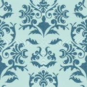 Square Tapestries - Textiles Prints - Damask Print by Subha Subha