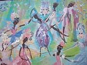 Dame Harmony Pantomime Print by Judith Desrosiers