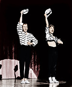 Striped Shirt Posters - Damn Yankees, From Left Bob Fosse, Gwen Poster by Everett