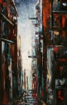 Damp And Cold Print by Debra Hurd