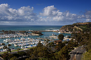 Dana Framed Prints - Dana Point Harbor California Framed Print by Cliff Wassmann