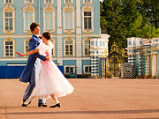 Saint Catherine Photo Posters - Dance at Saint Catherine Palace Poster by David Smith