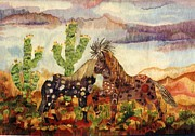 Western Art Tapestries - Textiles - Dance by Dennis Downes