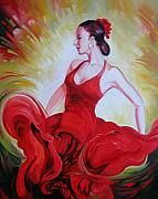 Energetic Paintings - Dance by Elena Oleniuc
