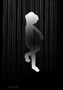 Shower Digital Art - Dance in Rain by Asok Mukhopadhyay