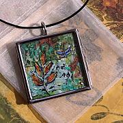 Artist Jewelry Originals - Dance into Autumn by Dana Marie