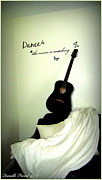 Guitare Posters - Dance Like No One Is Watching  Poster by Danielle  Parent