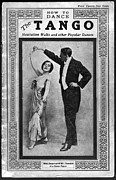 Ballroom Posters - Dance Manual For The Tango, Hesitation Poster by Everett