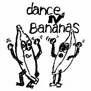 Banana Drawings Posters - Dance N Bananas Poster by Karl Addison