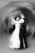 Groom Posters - Dance of Love Poster by Daniel Csoka
