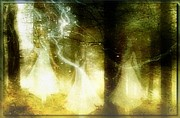 Digital Fairies Prints - Dance of the fairies Print by Gun Legler