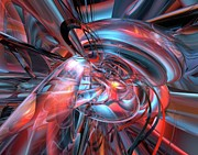 Dance Of The Glassmen Fx Print by G Adam Orosco