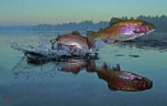 Rainbow Trout Metal Prints - Dance Of The Trout Metal Print by Brian Pelkey