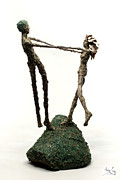 Dance Mixed Media - Dance on a Hill Top by Adam Long