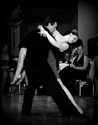 Ballroom Metal Prints - Dance Room Drama Metal Print by Lori Seaman